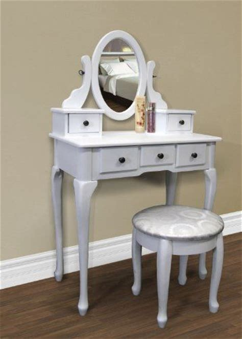Jewelry Armoire Vanity Set by White Vanity Table Set Jewelry Armoire Makeup Desk Bench