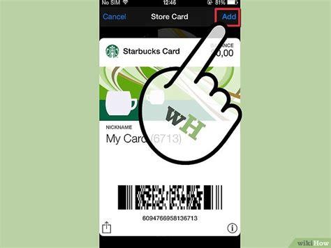 Add Gift Card To Passbook - 3 modi per aggiungere delle card a passbook wikihow
