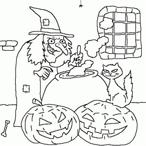 dibujos halloween a color imagui una bruja para colorear dibujos de halloween para imprimir