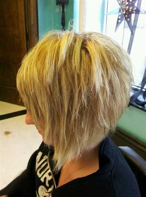 ppictures of razor cut bob hairstyles choppy bob back view www pixshark com images galleries