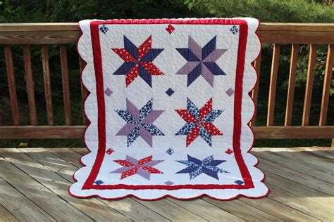 Patriotic Quilt Pattern by 7 Perfectly Patriotic Quilt Patterns