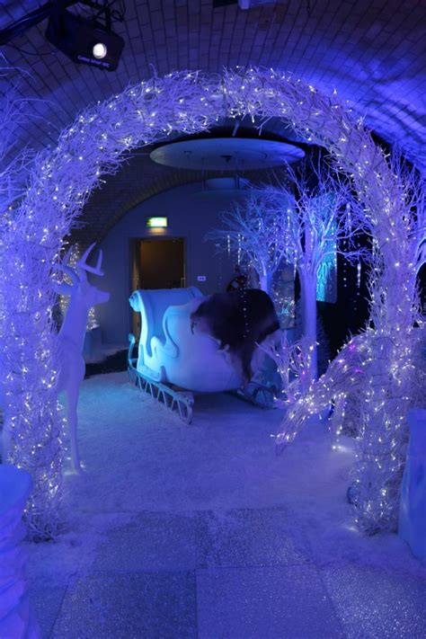 winter decorations hire santa s sleigh prop white small narnia theme hire khyla s sweet 16