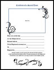 Godparent Certification Letter Printable Baptism Certificate For Godparents