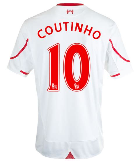 Jersey Liverpool Away 1415 apparel liverpool away jersey 2015 2016 coutinho 10 was sold for r1 049 00 on 16 nov at 07 49