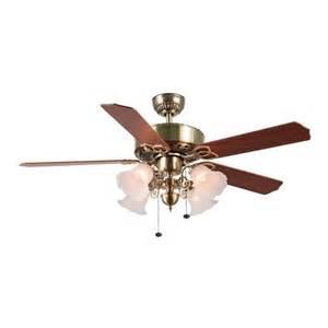 harbor 52 in new orlean antique brass ceiling fan