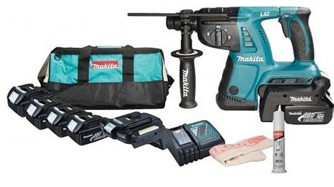 Perforateur Makita Sans Fil 4821 by Makita Bhr262rb4 Perfo Burineur 224 Batterie Outillage