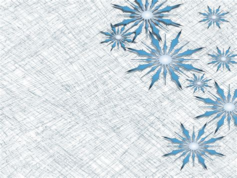Big Snowflake Ppt Backgrounds Big Snowflake Ppt Photos Snowflake Powerpoint Template