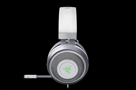 Headset Mercury razer goes white with mercury edition gaming peripherals
