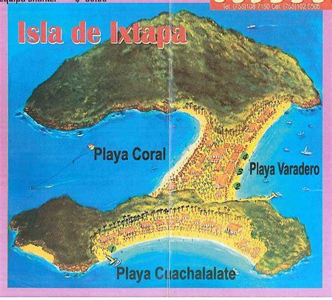 map of mexico showing ixtapa ixtapa mexico map