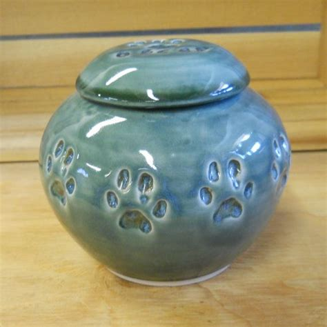 Handmade Cremation Urns - ceramic pet cremation urn handmade pottery made to order