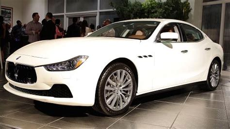 How Much Maserati Car Cost Fiat Launches Lower Cost Maserati At 68 000