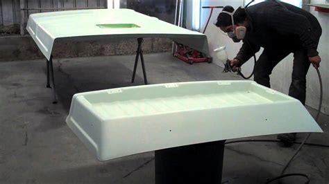 bathtub refinishing ta painting a vw cer pop top youtube