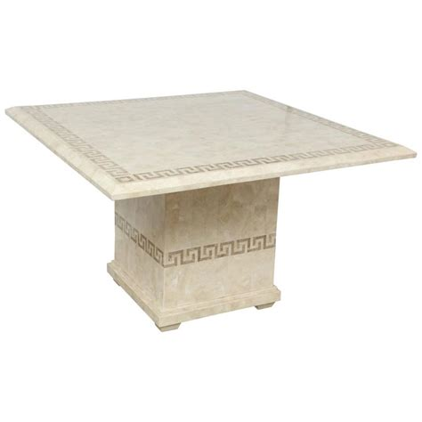 Square Marble Dining Table Square Marble Dining Or Conference Table For Sale At 1stdibs