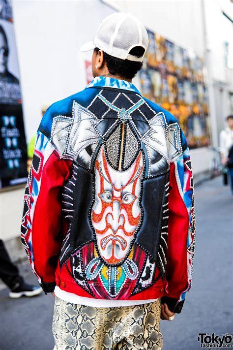 Harajuku Jaket G tyga on the in harajuku w vietraw bape harajuku kabuki jacket