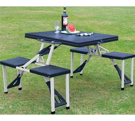 2 folding picnic table buy folding picnic table and stools at argos co uk your