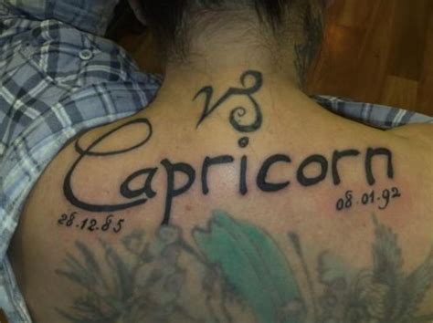 tattoo inspired clothing capricorn back large for inofashionstyle