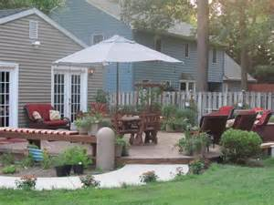 small backyard deck triyae backyard deck ideas for small yards various