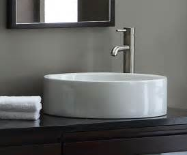vitreous china vessel sink from xylem