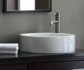 Home gt bath gt round ceramic vessel sink