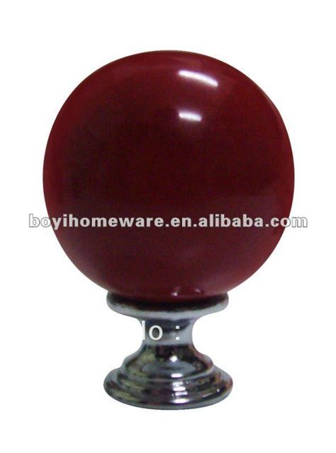 red cabinet knobs for kitchen new red colored ceramic knob bulb shape cabinet knobs