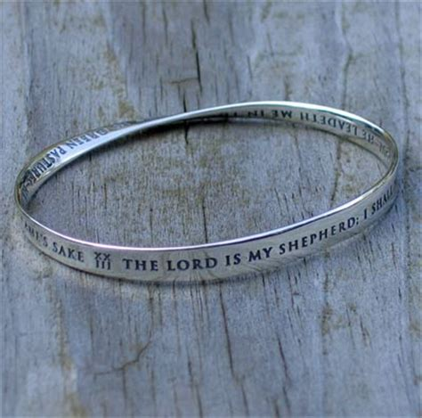 23 Psalm Mobius Bracelet ? ChristianGiftsPlace.com Online Store