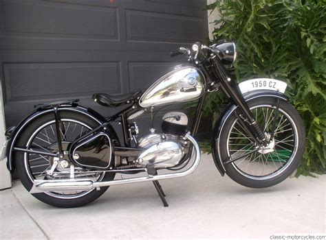 Cz Motorrad by 1950 Cz 150 Classic Motorcycles