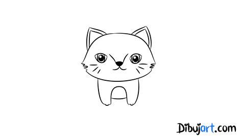 imagenes faciles para dibujar de gatos c 243 mo dibujar una gato salvaje beb 233 paso a paso 5 serie