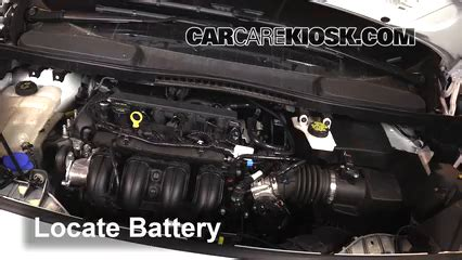 Cable De Batterie 2015 by How To Change A Starter Motor On A Ford Transit