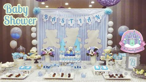 Adornos Para Baby Shower De Nino by Oh Lovely Decoraci 243 N De Baby Shower Ositos