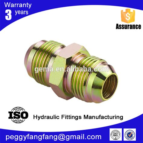 Coupling Hidrolik 12 Npt hydraulic fittings 1jg connector bspp 37flare