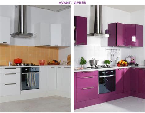 Beautiful Renover Cuisine Rustique En Moderne #11: Peindre-meubles-cuisine-resinence-couleur-prune5.png