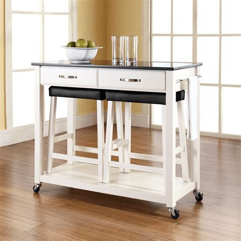 kitchen island cart with granite top kitchen island cart granite top