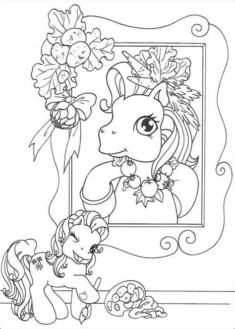 hello pony coloring pages pony s portrait coloring pages hellokids com