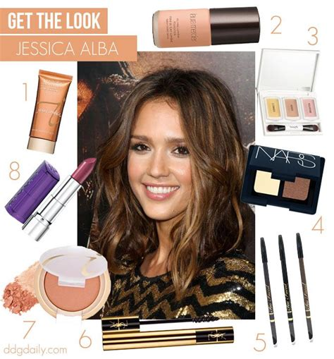 Get Look Alba Gustto by Get The Look Albas Warm Glow How Tos Feature