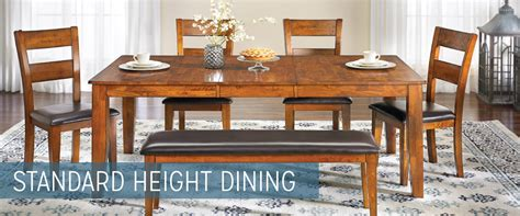 Standard Height For Dining Room Table Standard Height Dining Tables Haynes Furniture Virginia S Furniture