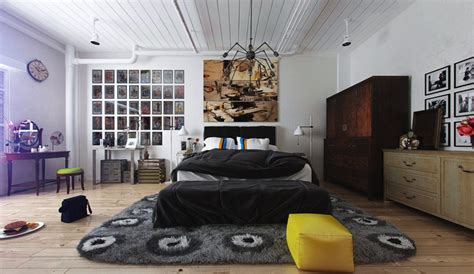Funky Bedroom Designs Colorful And Funky Interiors Visualized