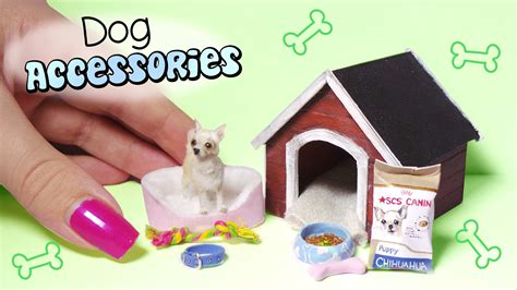 miniature accessories for doll houses miniature dog accessories tutorial dolls dollhouse my crafts and diy projects