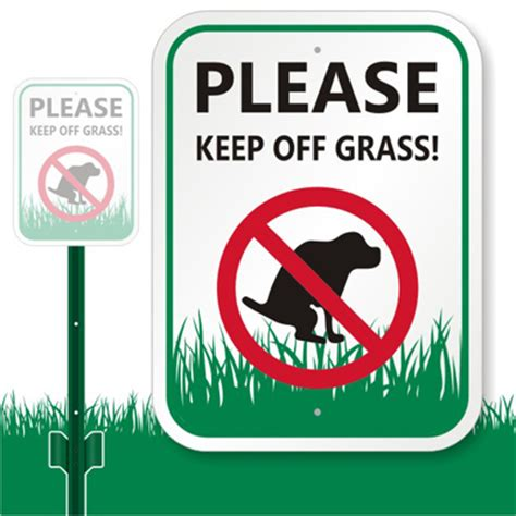how do i keep my dog off the couch keep off grass sign please keep off grass sign sku k 7347