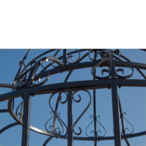 pavillon 2 50x2 50 metall garten metall pavillon gartenpavillon antik