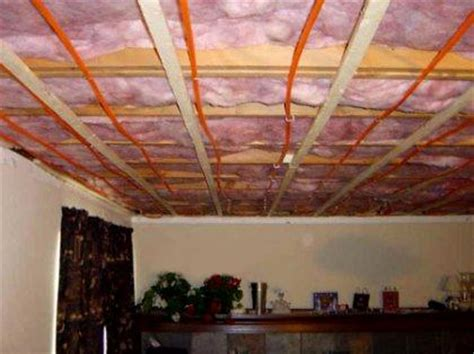 radiant heating ceiling ceiling heating system advantages how to build a house
