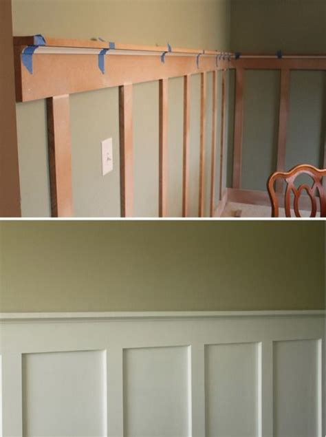 Premade Wainscoting by 17 Best Ideas About Faux Wainscoting On