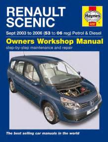 Renault Scenic User Manual Free Renault Scenic 2 Repair Manual Grand Scenic Haynes