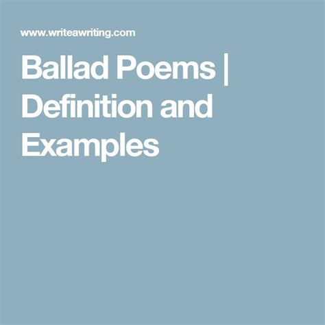 theme analysis definition the 25 best ideas about ballad poem on pinterest stages