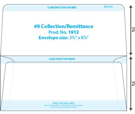 9 remittance envelope template collection dual purpose envelope template western