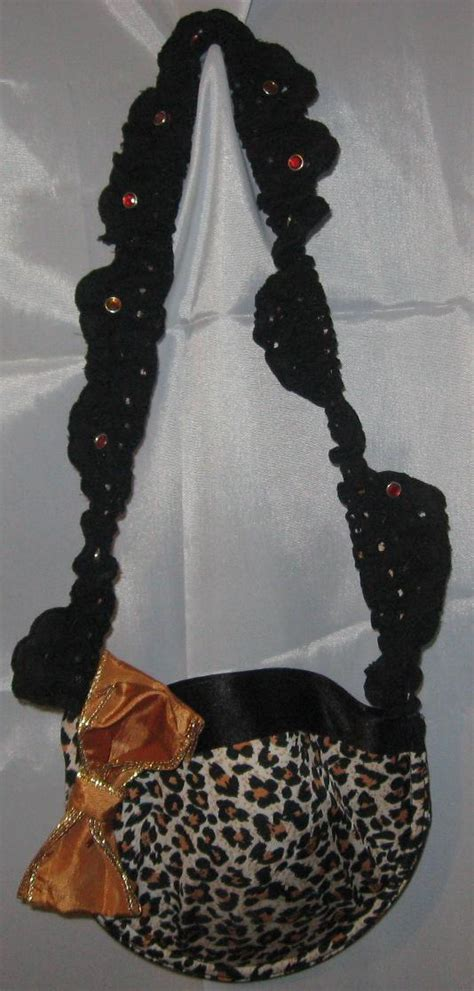 Tas Leopard Cap bratastic evening purse 183 a novetly bag 183 studding and no sew on cut out keep