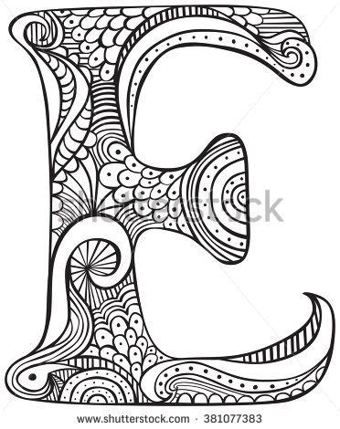 E T Coloring Pages image result for free colouring pages for adults letters