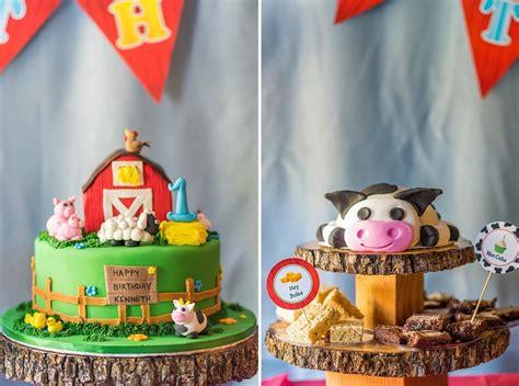 themed birthday kenneth s farm themed birthday