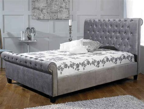 plush headboard beds limelight orbit plush silver bed frame dublin beds