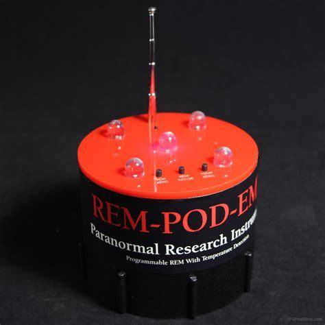 ghoststop ghost hunting equipment rem pod emf detector