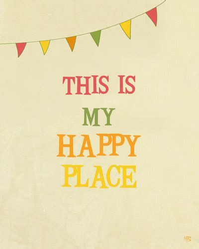my happy room items similar to my happy place typography art print